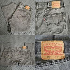 Vintage 501 Levi's Denim Strauss Jean's Unisex 38